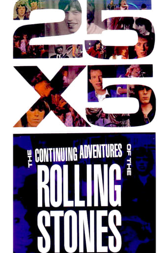 Poster of The Rolling Stones: 25x5 - The Continuing Adventures of The Rolling Stones