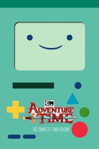 Hora de Aventura 3ª Temporada - Poster