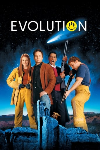 Evolution (2001) - poster