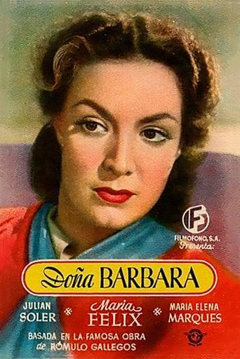 Poster of Doña Bárbara