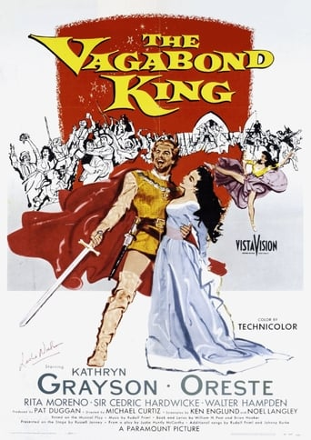 Poster of The Vagabond King