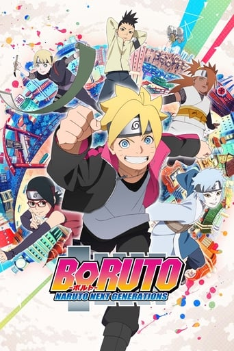 Boruto: Naruto Next Generations Movie Poster