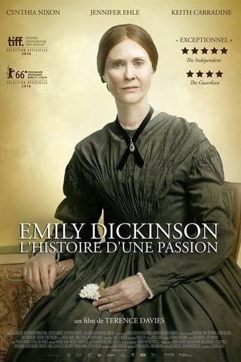 Poster of Emily Dickinson, a Quiet Passion