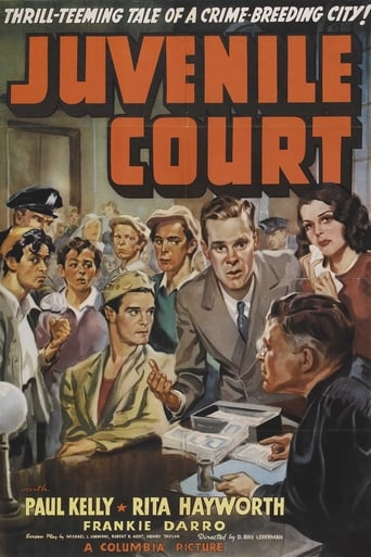 Poster of Juvenile Court
