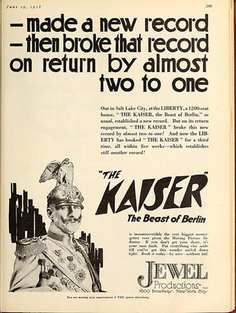Poster of The Kaiser, the Beast of Berlin