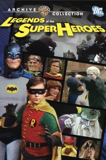 Poster of Legends of the Superheroes