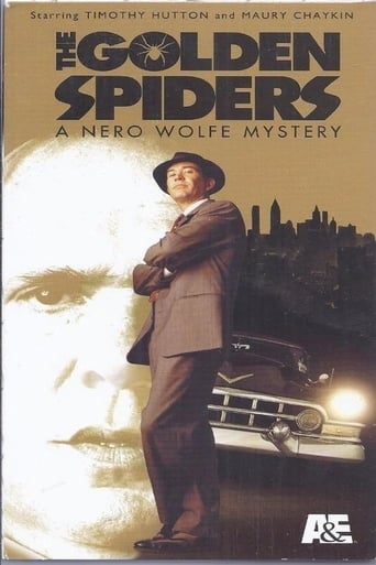 Poster of The Golden Spiders: A Nero Wolfe Mystery