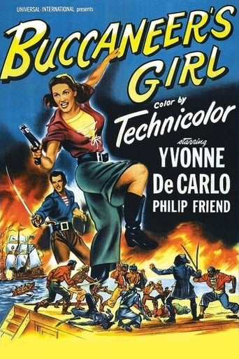 Poster of Buccaneer's Girl