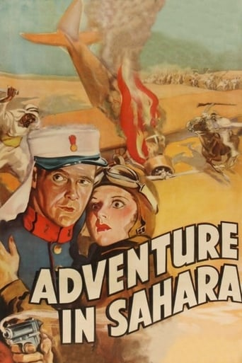 Poster of Adventure in Sahara
