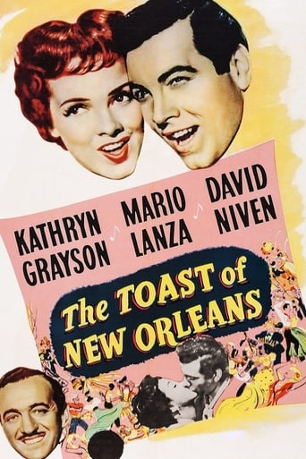 Poster of The Toast of New Orleans