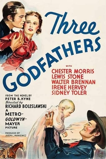 Poster of Three Godfathers