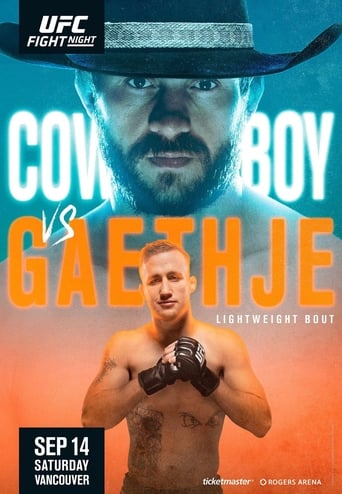 Poster of UFC Fight Night 158: Cowboy vs. Gaethje
