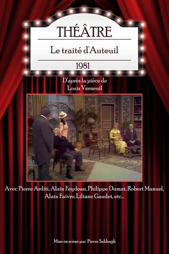 Poster of Le traité d'Auteuil