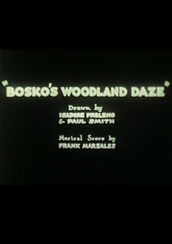 Poster of Bosko's Woodland Daze