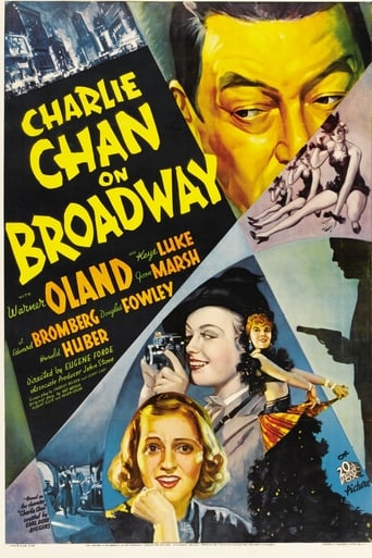 Charlie Chan on Broadway poster
