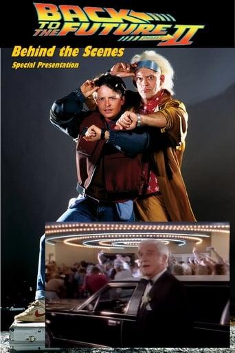 Poster of Back to the Future Part II. Behind the scenes.