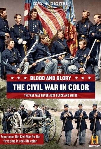Poster of Sangre y Gloria: La guerra civil Americana en color