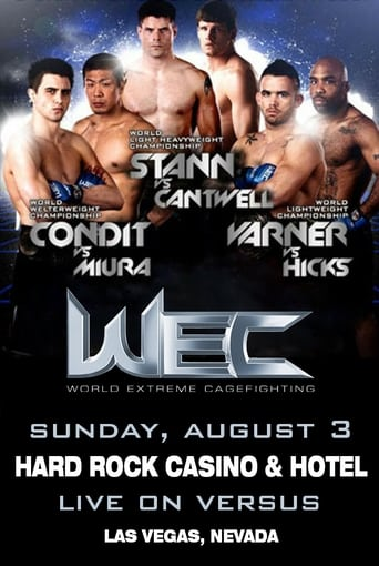 Poster of WEC 35: Condit vs. Miura