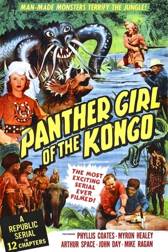 Poster of Panther Girl of the Kongo