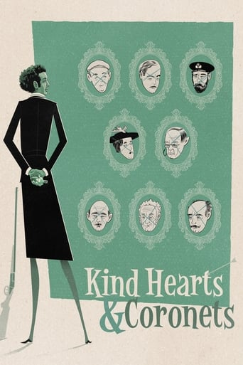 Poster of Kind Hearts and Coronets