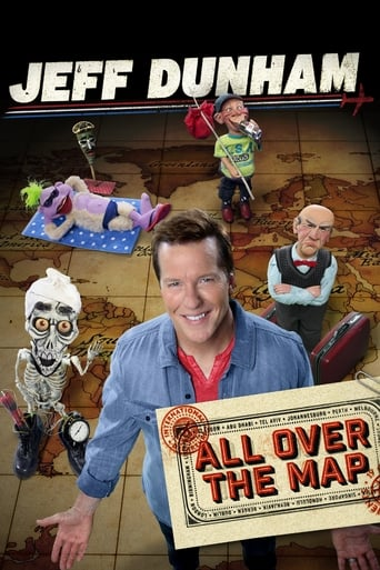 Poster of Jeff Dunham: All Over the Map