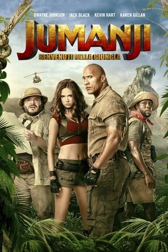 Poster of Jumanji: Benvenuti nella giungla