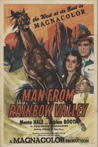 Poster of Man from Rainbow Valley