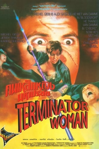 Poster of Terminator Woman