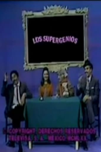 Poster of Los Supergenios de la Mesa Cuadrada