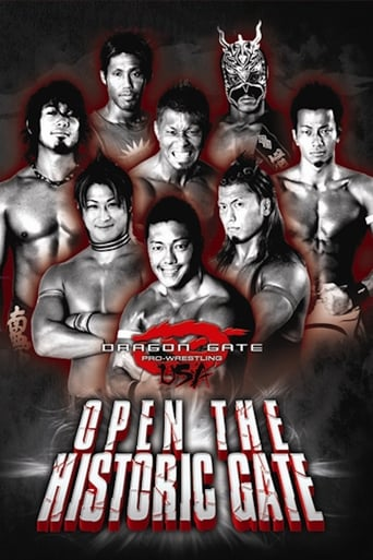 Poster of Dragon Gate USA; Open the Historic Gate
