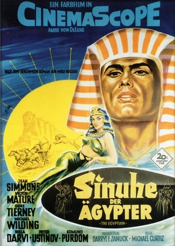 Filmplakat von Sinuhe der Ägypter