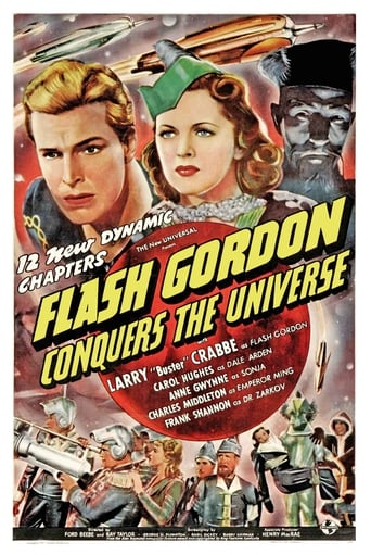 Poster of Flash Gordon Conquers the Universe