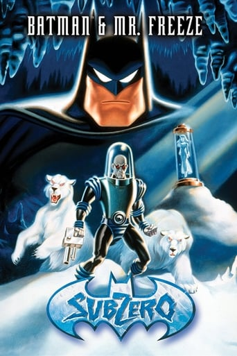 Batman e Mr. Freeze: Abaixo de Zero - Poster
