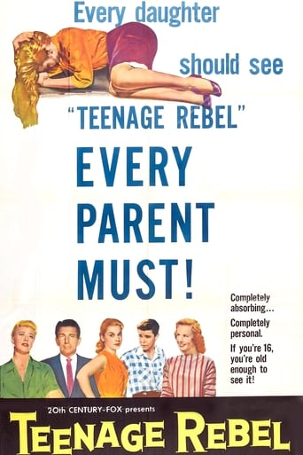 Poster of Teenage Rebel