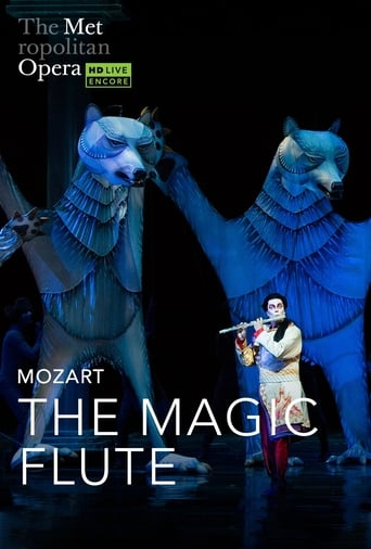 Poster of The Metropolitan Opera: The Magic Flute