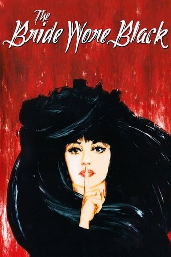 Poster The Bride Wore Black