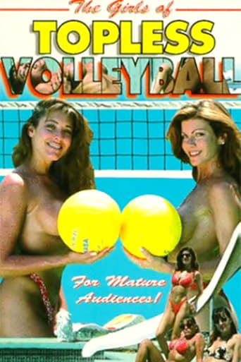 Poster of The Girls of Topless Volleyball