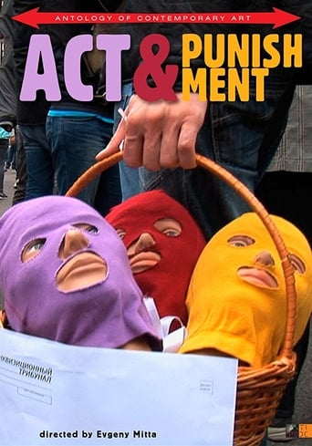 Poster of Act & Punishment: The Pussy Riot Trials