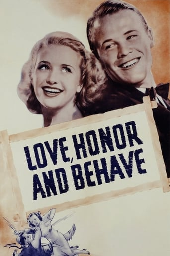 Poster of Love, Honor and Behave