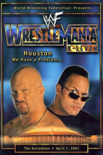 Poster of WWE WrestleMania X-Seven