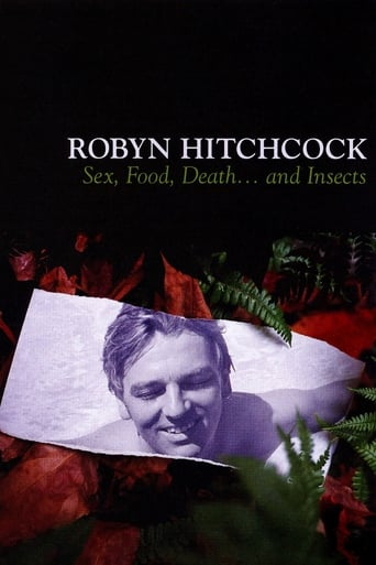 Poster of Robyn Hitchcock: Sex, Food, Death... and Insects
