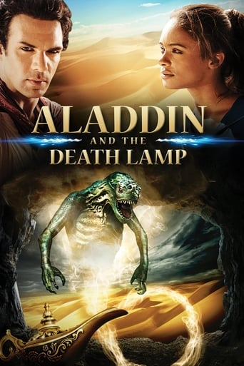 Poster of Aladdin and the Death Lamp