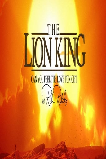 Poster of The Lion King: Can You Feel The Love Tonight with Robin Roberts