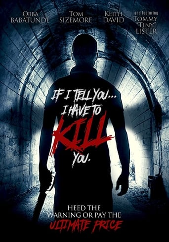 Poster of If I Tell You I Have to Kill You