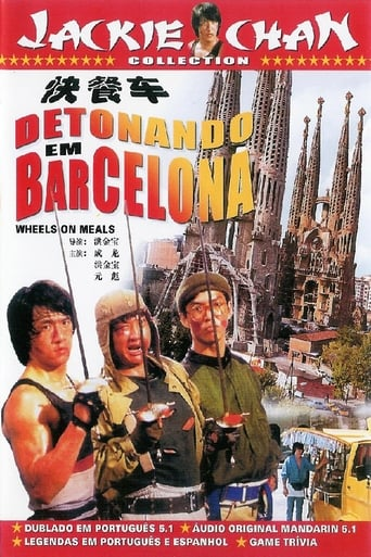 Detonando em Barcelona - Poster