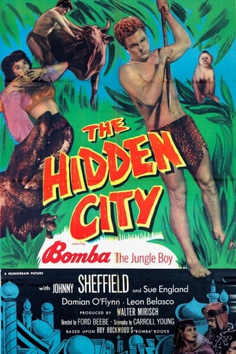 Poster of Bomba and the Hidden City