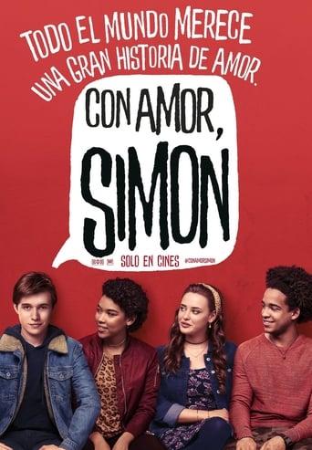 Poster of Con amor, Simon