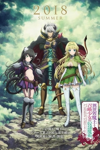 Isekai Mao to Shokan Shojo no Dorei Majutsu 1ª Temporada - Poster