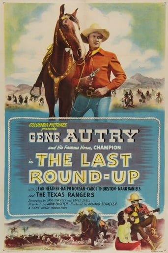Poster of The Last Round-up
