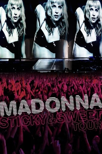 Poster of Madonna: Sticky & Sweet Tour